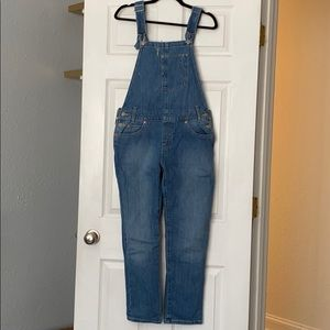 Levi denim overalls